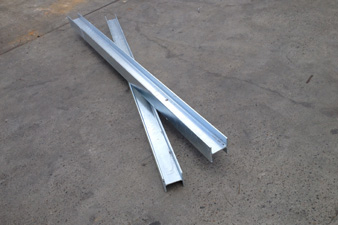 Some of our steel products in Sydney